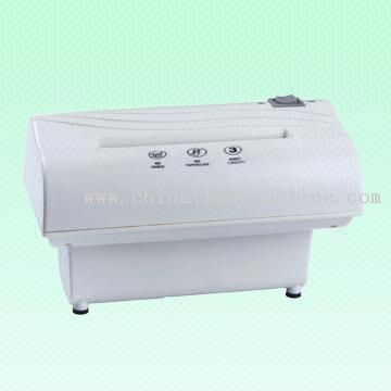 Small Paper Shredder with Auto Shut Off Function to Avoid Overheating from China