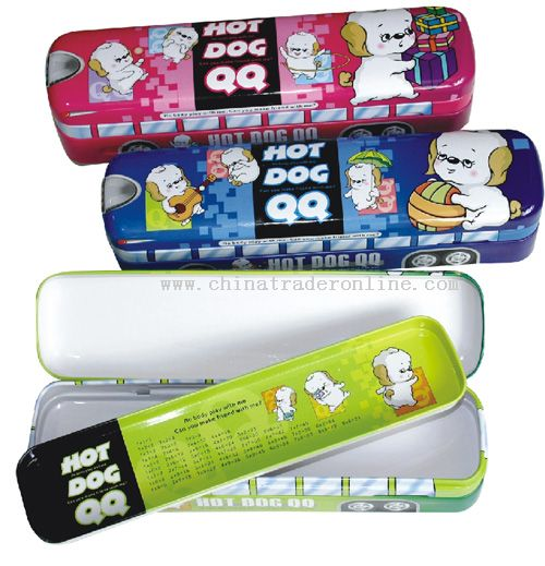 Bus Pencil Box