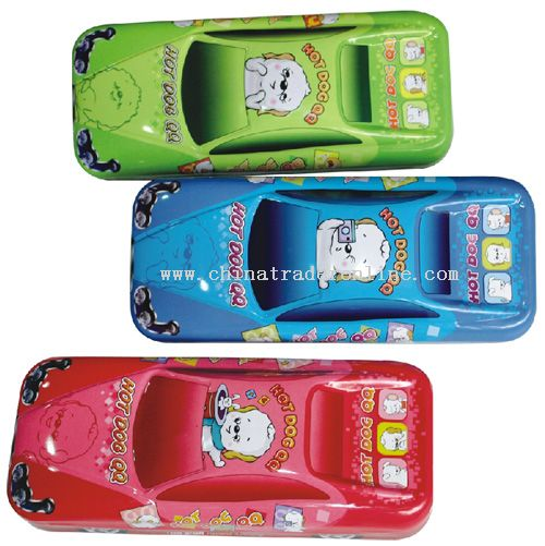 Race Car Pencil Box