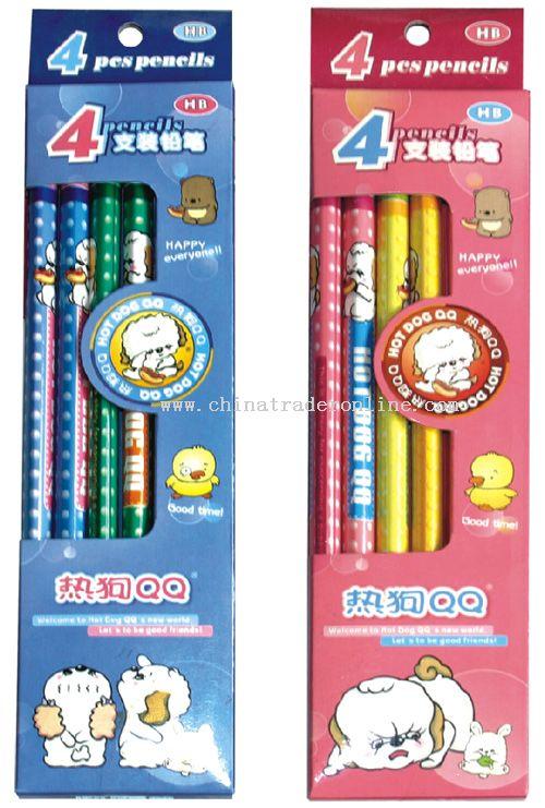 4pcs Triangle Pencil