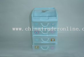 4 layers stationery cabinet from China