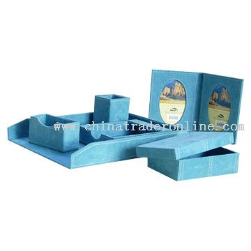 Desktop Stationery Holder Set