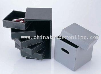five layer stationery box