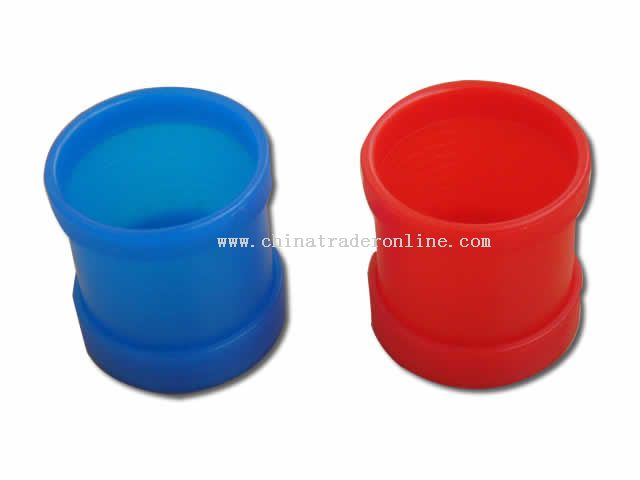 Plastic Rounded Dice Cup