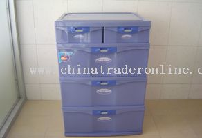 sealed storage cabinet (3 layers&1 small one)