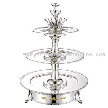 4-Layer Crown Seafood Tower