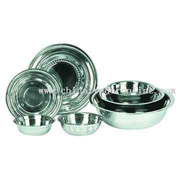 Basins and Salad Bowls