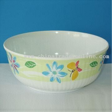 Flated Deep Melamine Bowl