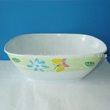 Square Bowl Made of Melamine