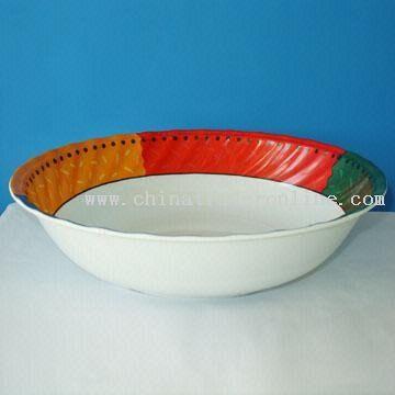 Wavy Salad Bowl