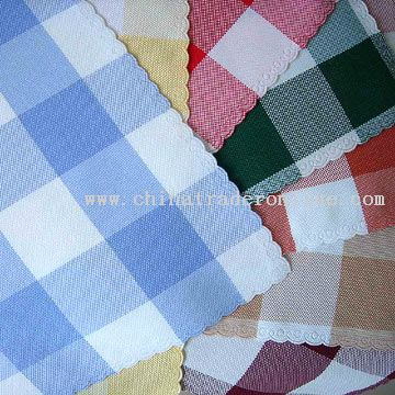 Checkerwork Table Cloth