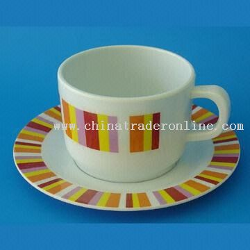 High-quality Melamine Cup and Saucer Set