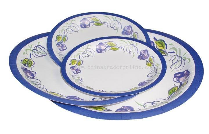 Disposable Color Paper Plate
