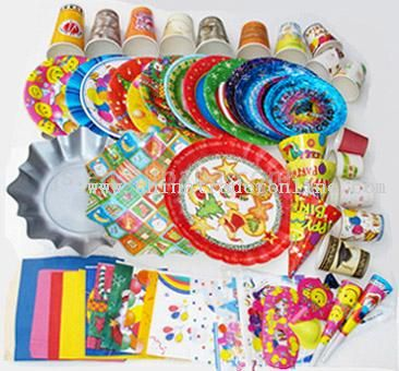 Disposable Products for Party
