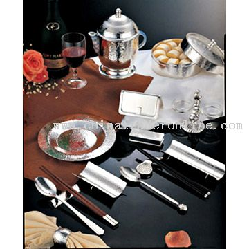 Dream of Paris Series Silver Tableware
