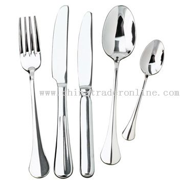 Fork, Knife and Spoons from China