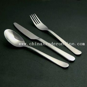 Stainless Steel Cutlery Set with Customized Combination and Request