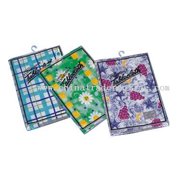 PEVA Flannel Back Tablecloths