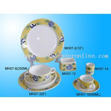 Porcelain Dinnerware from China