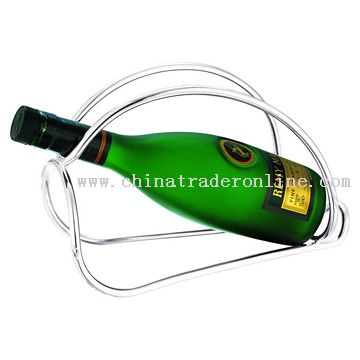 Silver Plated Champagne Wine Bottle Stand from China