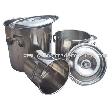 Stainless Steel Cylinder Tub