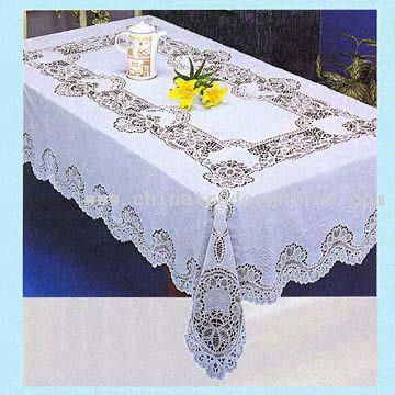 Crochet Vinyl Tablecloth