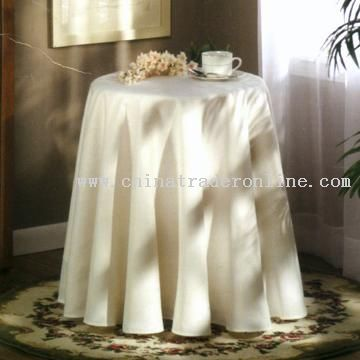 Decorative Round Table Cloth From China
