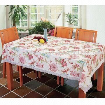Lace Border Tablecloth