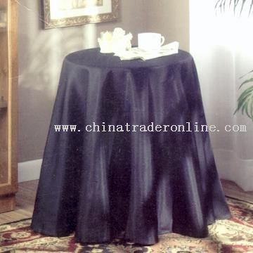 Purple Round Table Linen