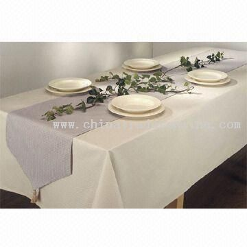 Table Cloth in Different Fabrics and Different Sizes