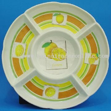 5-section Round Tray