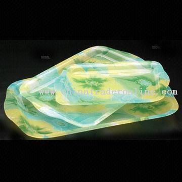 Acrylic Fruit Tray Available in Different Sizes and Shapes
