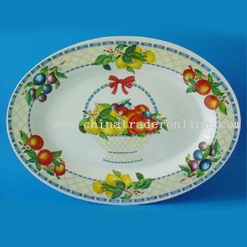 Oval Melamine Plate & Food Tin TraysOval Melamine Platewholesale Tray - novelty Tray China