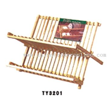 Wooden Dish Rack