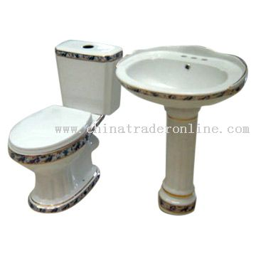 Washdown Two-Piece Toilet from China