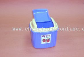 44 corrugated garbage bin (low)