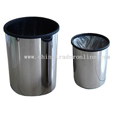 Stainless Steel Dustbins from China