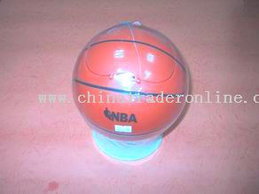 basketball shape dustbin