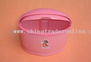 egg shape dustbin