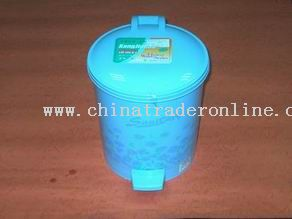 round printing dustbin from China