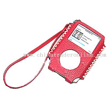 PU Skin Case for iPod Shuffle Mini Nano Video 4G