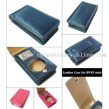 iPod Compatible Leather Cases