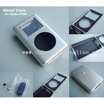 iPod Compatible Metal Case