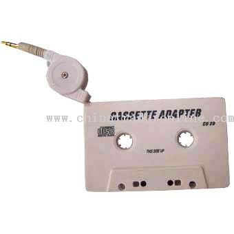 Retractable IPOD Cassette Adapter