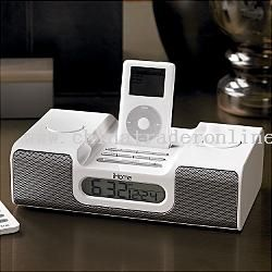 ipod alarm clock + remote