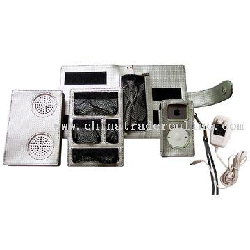 Accessory Carrying Case & Mini Speaker