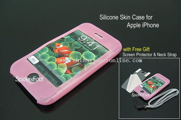Silicone Skin Case for Apple iPhone