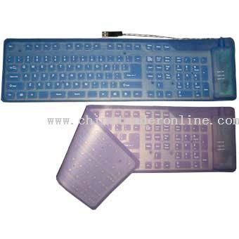 Flexible Full Sized Keyboard