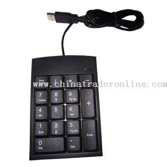 18-Key USB Numeric Keypad