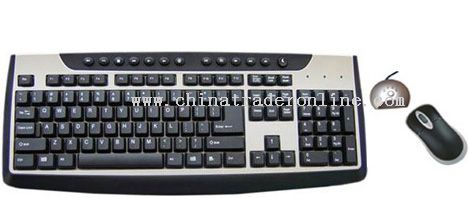 Wireless MultiMedia Keyboard
